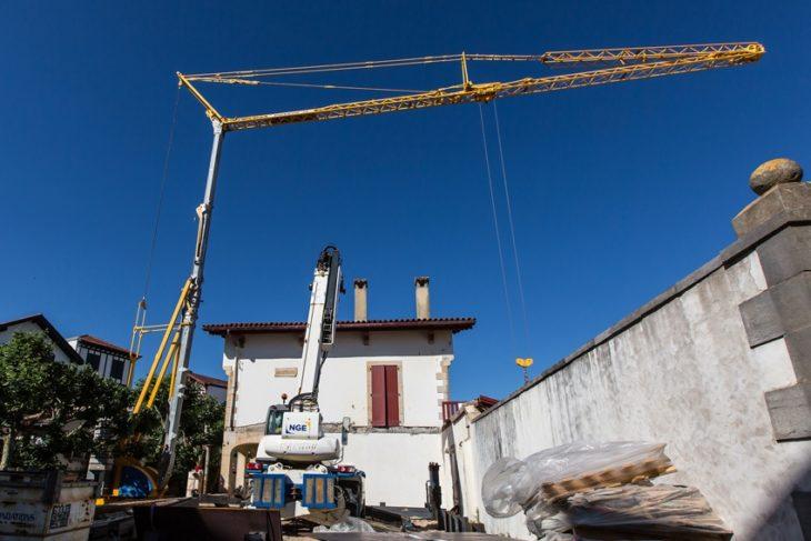 photos chantier St Jean de Luz